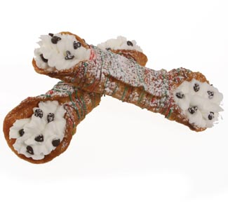 Christmas Cannoli