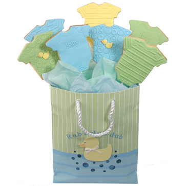 Baby Bodysuite Cookie Bouquet