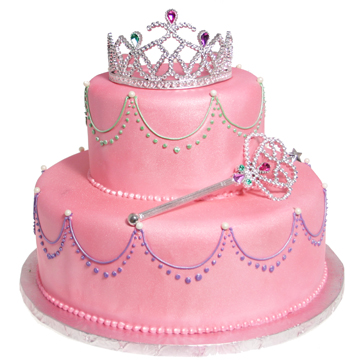 Pretty Princess Cake Country Kitchen SweetArt