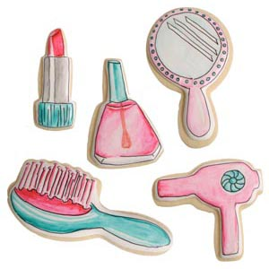 Beauty Set Cookies