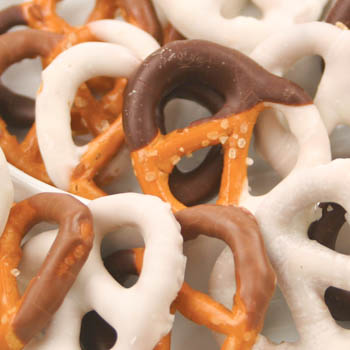 Two-Color Pretzels