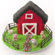 Little Farm Scene Cake