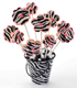 Zebra Flower Bouquet