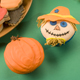 Scarecrow and Pumpkin Cupcakes