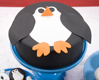 Winter Penguin Cake
