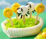Chick and Lamb Cookie Pops