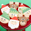 Santa Elf and Reindeer Cookies