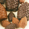 Dark Chocolate Toffee Molded Pinecones