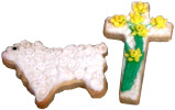 Buttercream Cross and Lamb