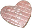 Quilted Heart Cookie