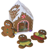 Gingerbread Boys with Candy Clothes