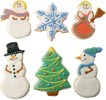 Snow Family Cookies