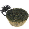Metallic Spider Cupcake