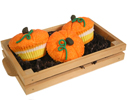 Bushels of Pumpkin Cupcakes