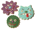 Silly Monster Cookies