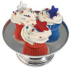4th of July Star Pick Cupcakes