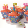 Bright Birthday Cupcakes