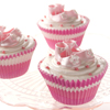 Pink Baby Shoes Cupcakes
