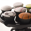 Assorted Sports Ball Cupcakes