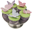 Sparkle Butterfly Cupcakes