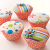 Flower Edible Image Cupcakes