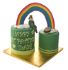 Leprechaun and Pot of Gold Cake