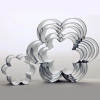 Cookie Cutters, Candy Molds and Rolled Fondant Cutters